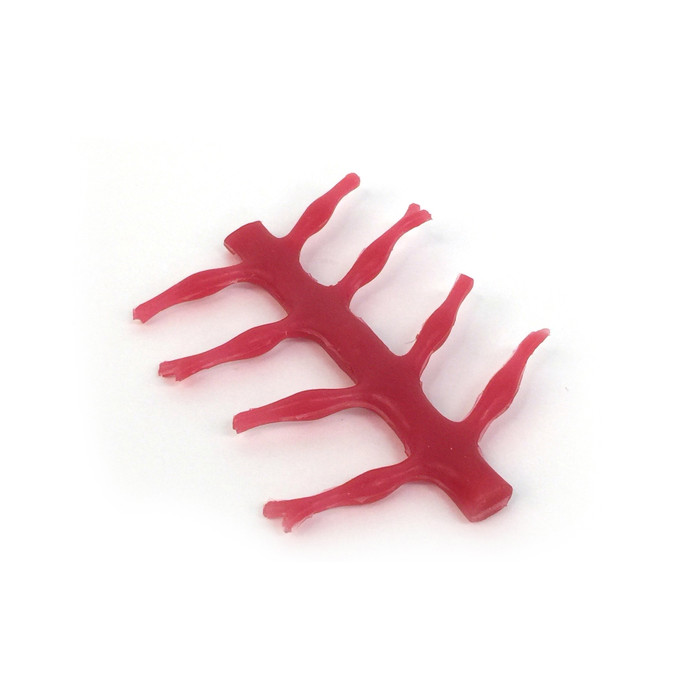 Spinal Cord Model, red spinal cord model, soft lifelike model, Health Edco, 27008