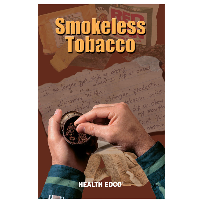 Smokeless Tobacco Booklet for health education from Health Edco, tobacco and anti-tobacco teaching resources, 40014