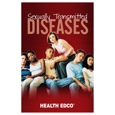 Sexually Transmitted Diseases Booklet for health education by Health Edco covering different STDs and preventing them, 40039