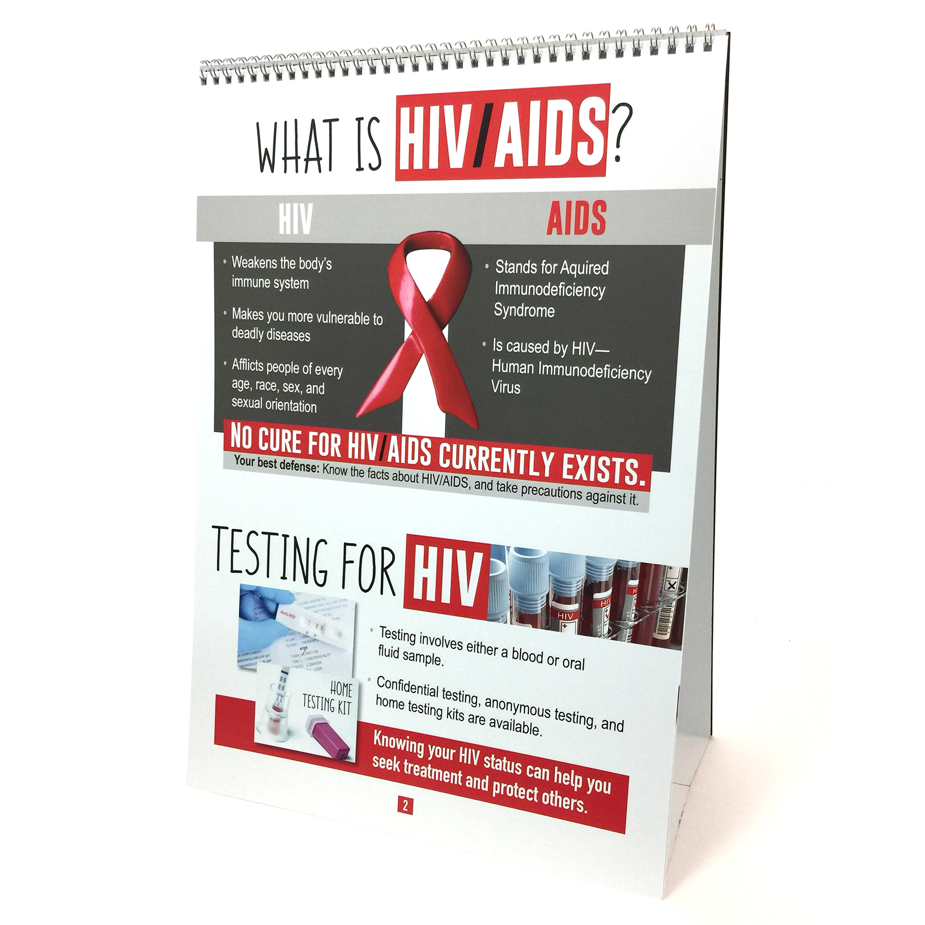 HIV/AIDS Flip Chart | Health Edco | Educational Resources