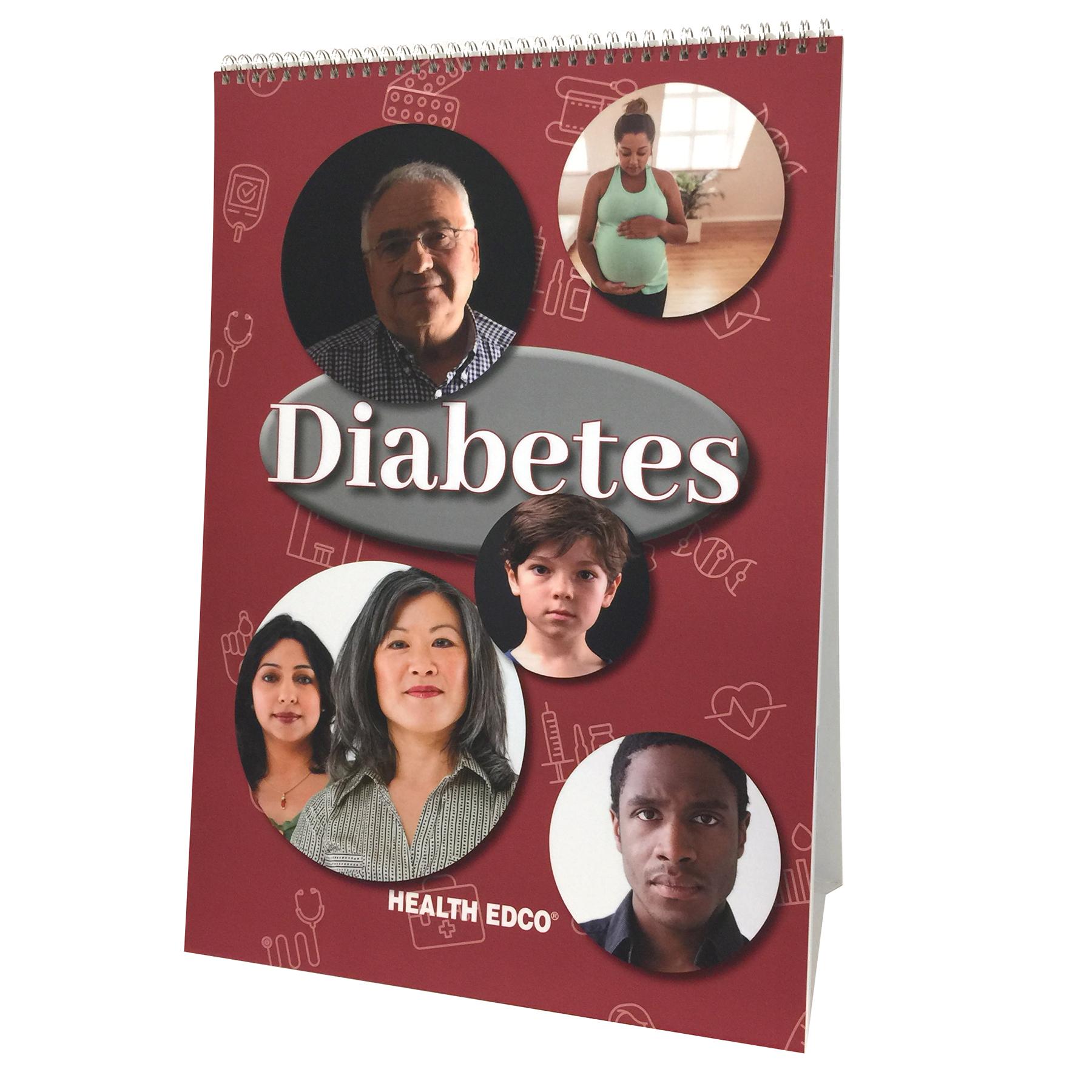 Diabetes Flip Chart Health Edco Educational Resources