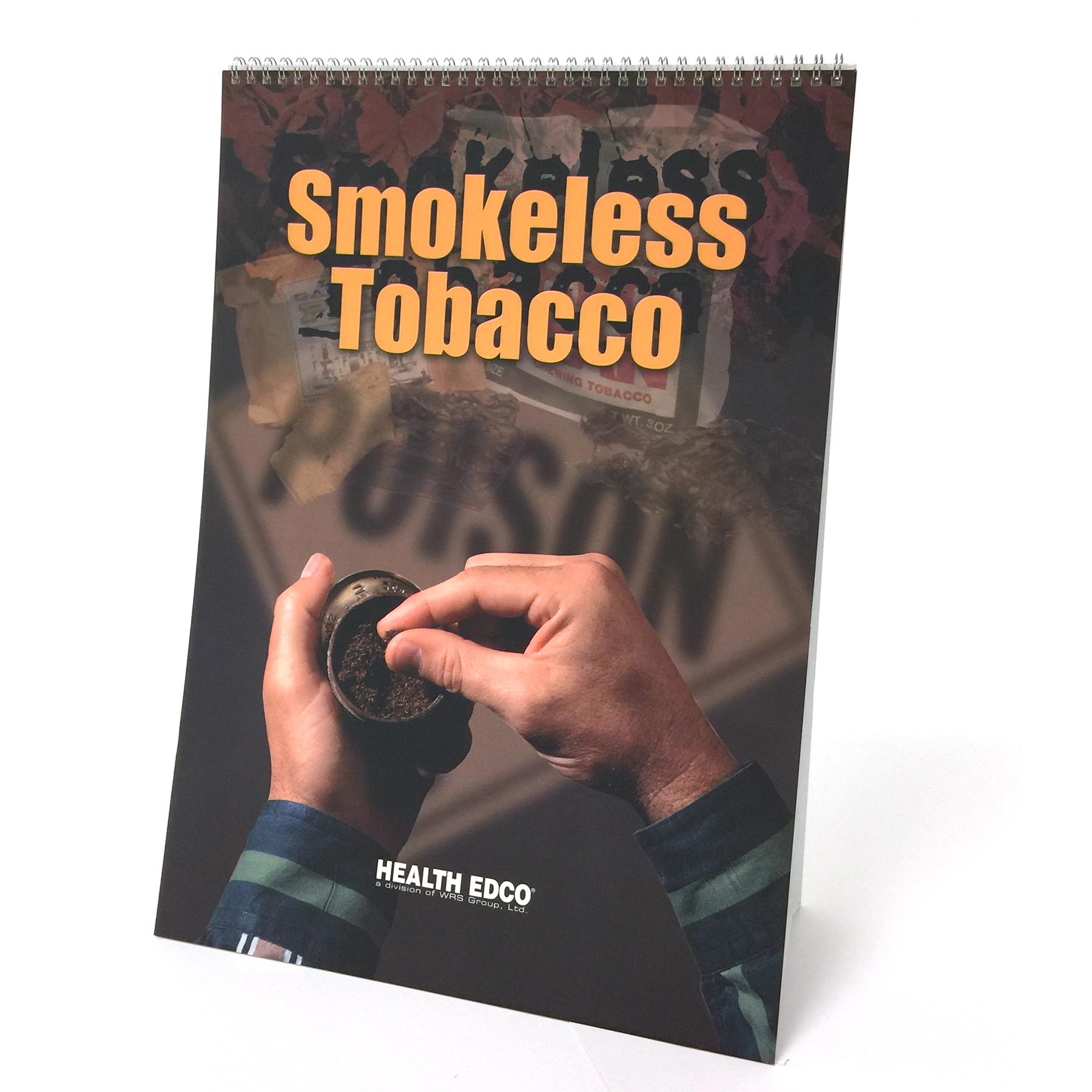 Smokeless Tobacco Health Effects Flip Chart | Health Edco