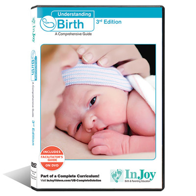 Understanding Birth DVD English 3rd edition, cover image skin to skin contact, Childbirth Graphics, 48539
