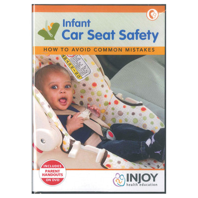 Infant Car Seat Safety Avoiding Common Mistakes DVD, young infant in car seat, Childbirth Graphics, 48809