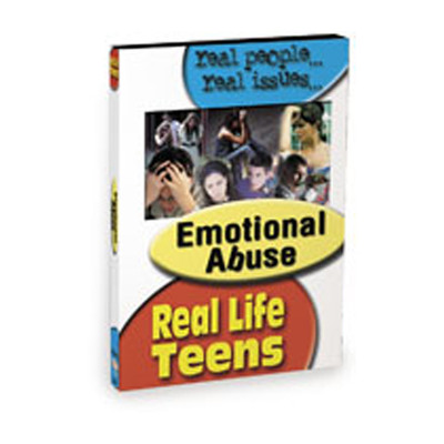 Emotional Abuse DVD, teen experiences with destructive behavior power & control, Health Edco, 48819