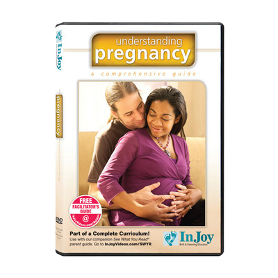 Understanding Pregnancy A Comprehensive Guide DVD, interacial couple touching pregnant belly, Childbirth Graphics, 48880