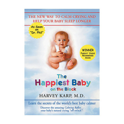 The Happiest Baby On the Block Book, Harvey Karp teaches calming reflex to sooth fussy babies, Childbirth Graphics, 51266