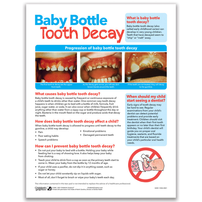 baby bottle tooth decay tear pad childbirth graphics. Black Bedroom Furniture Sets. Home Design Ideas