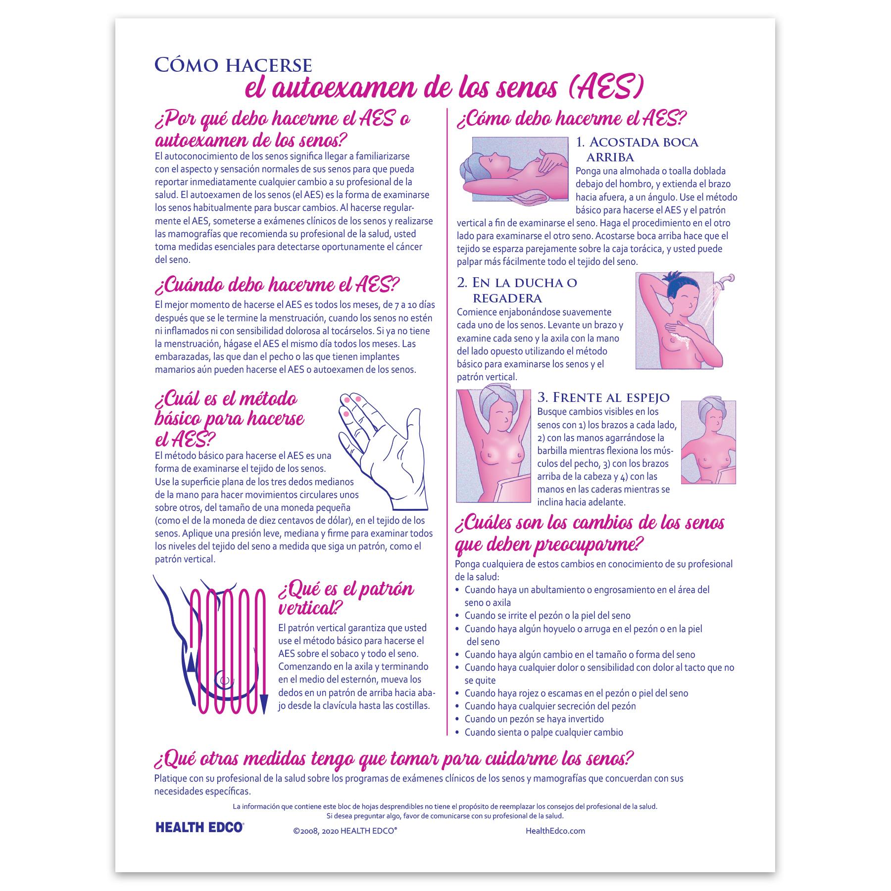 como se realiza el examen de seno