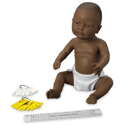 Enhanced/Drug-Affected Ready or Not Tot Black female control keys & program teacher correction template, Health Edco, 53610