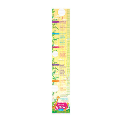 Watch Me Grow Growth Chart Set Of 20 Childbirth Graphics