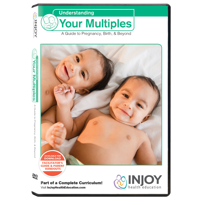 Understanding Your Multiples DVD for childbirth education, parenting teaching materials, Childbirth Graphics, 71413