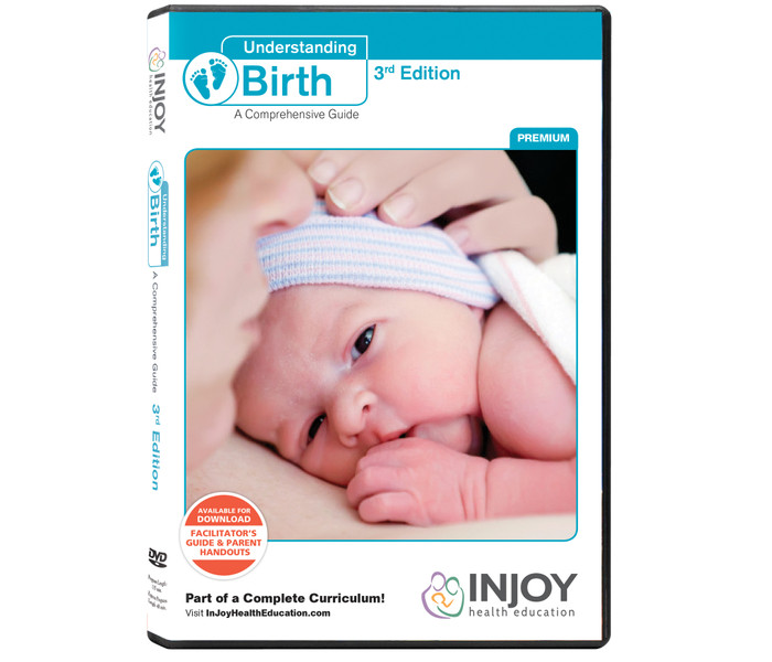 Understanding Birth 3rd Edition: A Comprehensive Guide DVD (Premium Package), educational tools, Childbirth Graphics, 71422