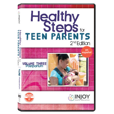 Healthy Steps for Teen Parents 2nd Edition Volume 3: Postpartum DVD, Spanish, available from Childbirth Graphics, 71499