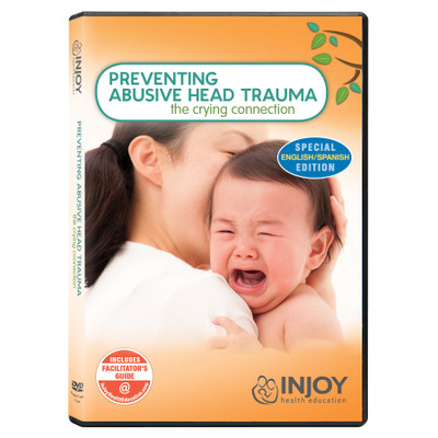 InJoy's Preventing Abusive Head Trauma DVD, English-Spanish, available at Childbirth Graphics, educational materials, 71503