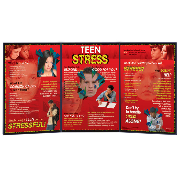 Causes of teen stress, live prons