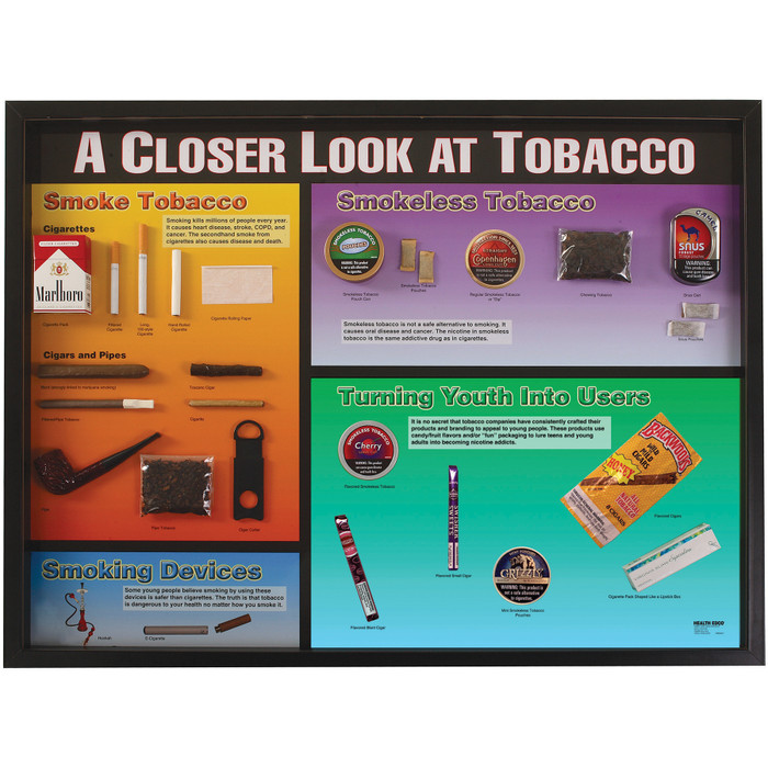 tobacco closer types display vaping materials health dangerous dvd healthedco education think than