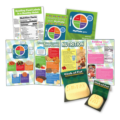 Nutrition Information Food Card Package Of 125 Health Edco