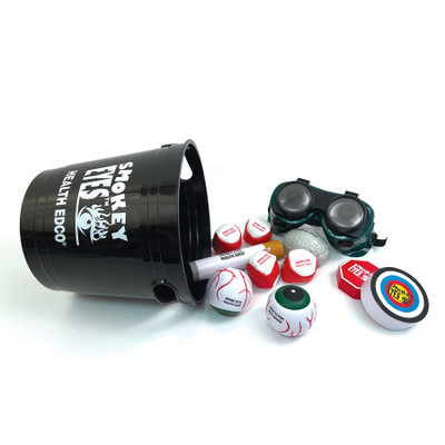 Smokey Eyes Goggles Game Kit anti-smoking teaching activity for health education by Health Edco, 79373