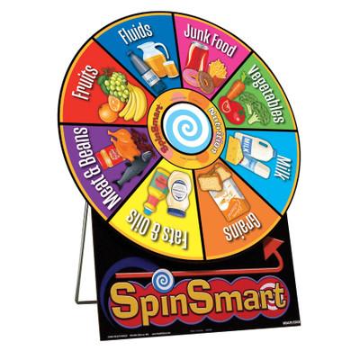 SpinSmart Nutrition Education Activity Wheel | Health Edco