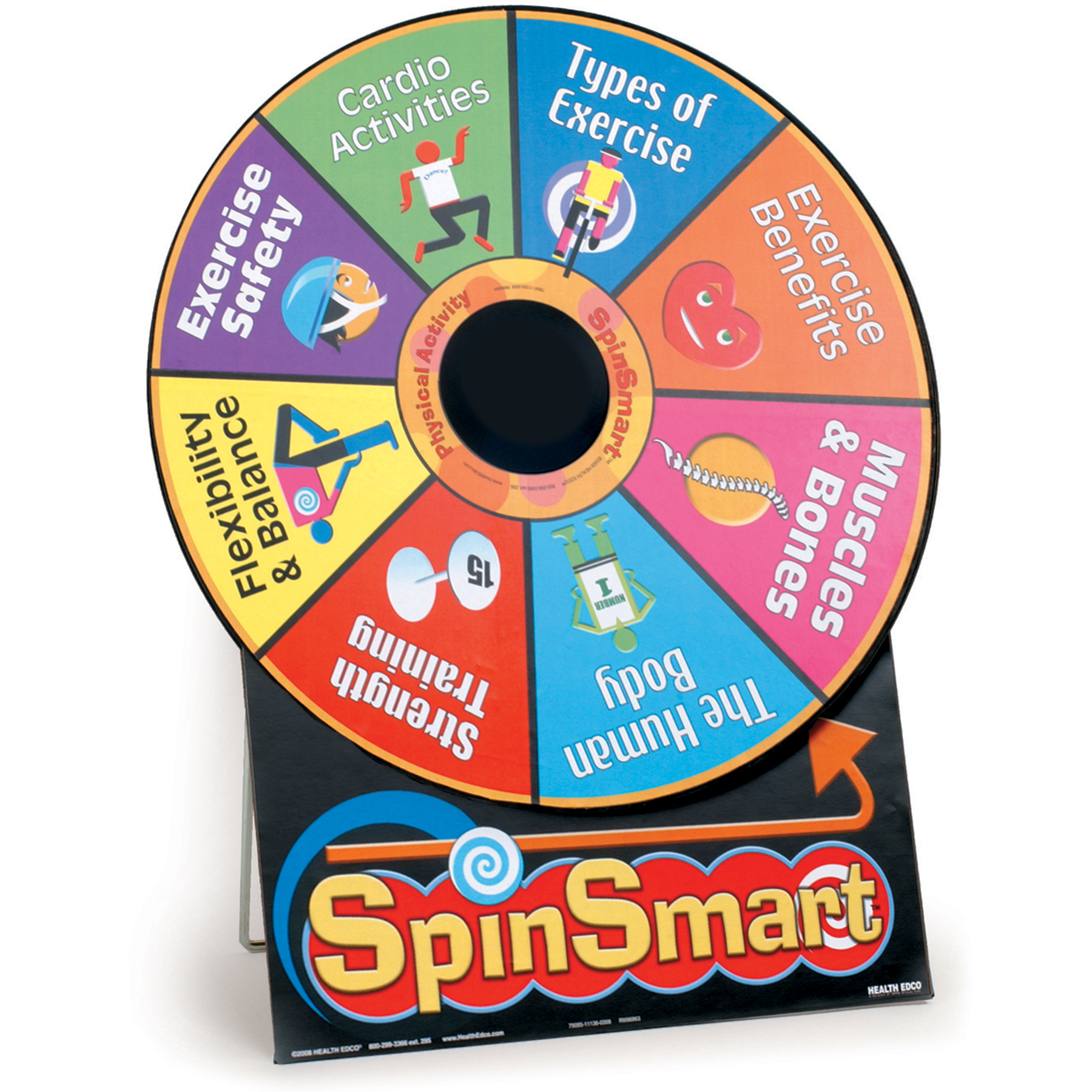 SpinSmart Physical Activity Educational Game